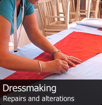 Dressmaking, repairs and alterations